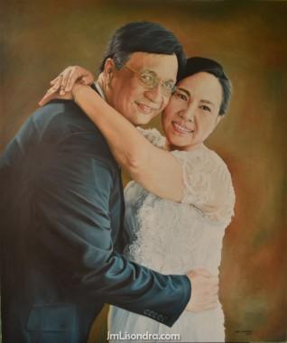 Mr. Romel And Mrs. Maria Theresa Macasaet