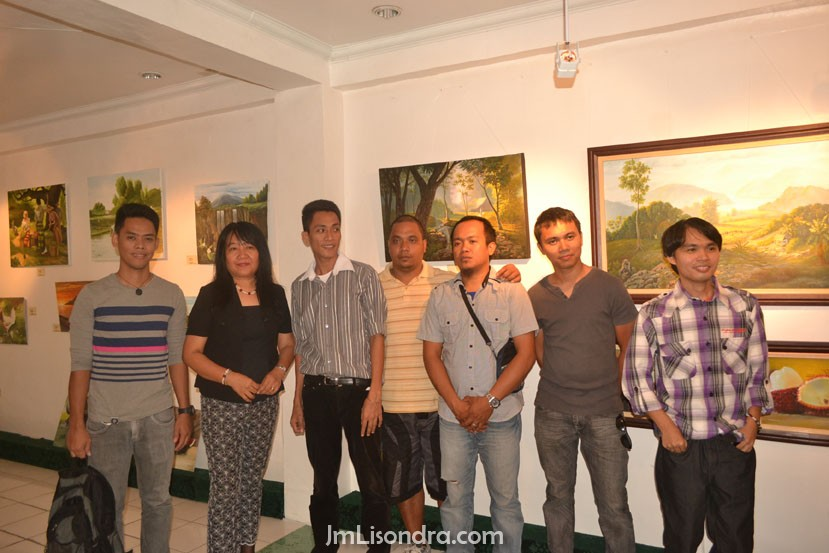 Guihulngan Artists Exhibition In Gatx's Gallery Entitled 'Distinction'