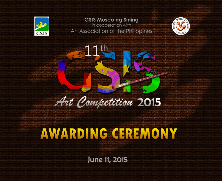 11th GSIS Art Competition 2015 Awarding Ceremony