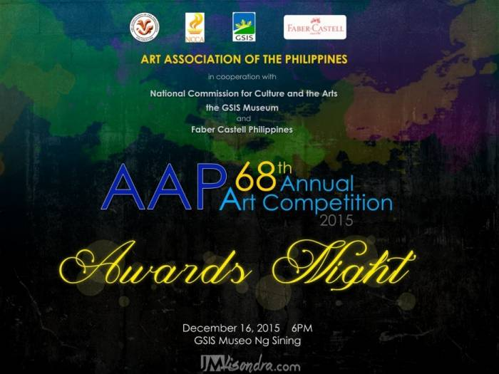 AAP 68th Annual Art Competition 2015 Winners