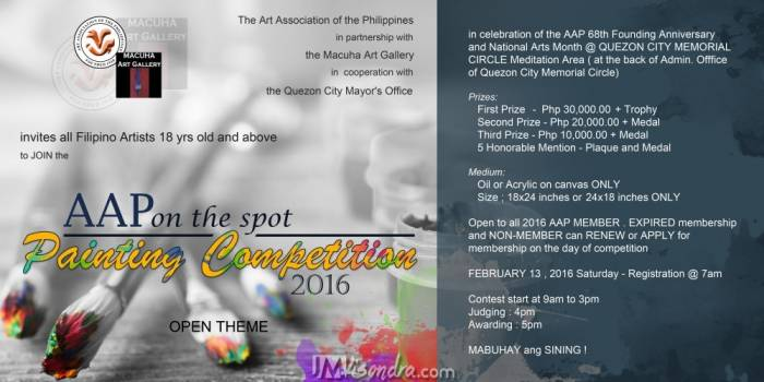 AAP On The Spot Painting Competition 2016