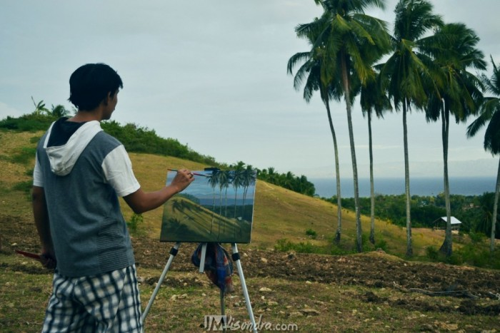 Outdoor Painting In Guihulngan City