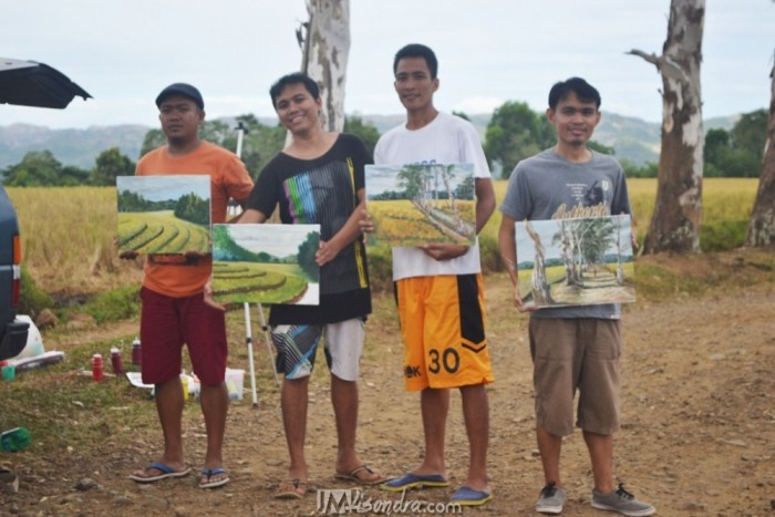 Outdoor Painting At Canlaon City With My Friends