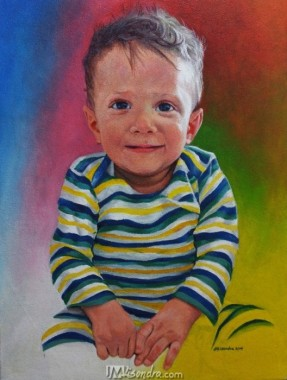 Baby Portrait Commission