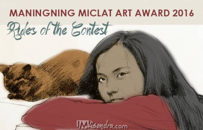 Maningning Miclat Art Award 2016 Contest Rules
