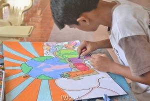 Poster Making Contest 2016 at Saint Francis College Guihulngan City