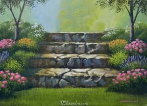 Stairway To Flower Garden