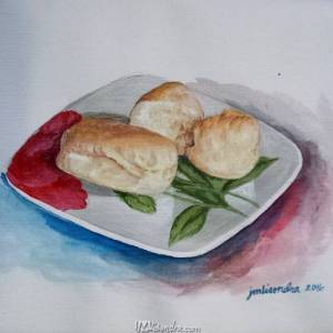 Pandesal Sa Platito (bread De Saucer)