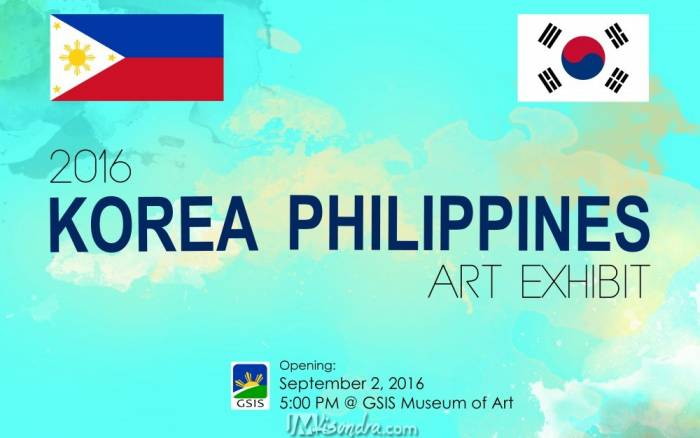 Korea Philippines 2016 Art Exhibit