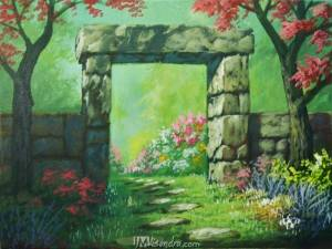 Gateway To Flower Garden