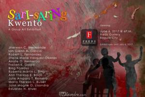 Sari-Saring Kwento (Different Stories) Group Art Exhibit @ Fred's Gallery in Baguio City