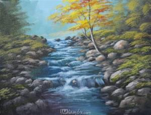 Running Shallow River