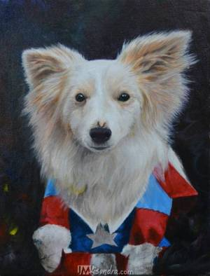 Paint My Dog Portrait Activity