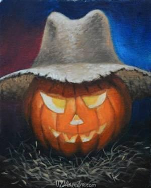 Halloween Pumpkin Jack-O'-Lantern