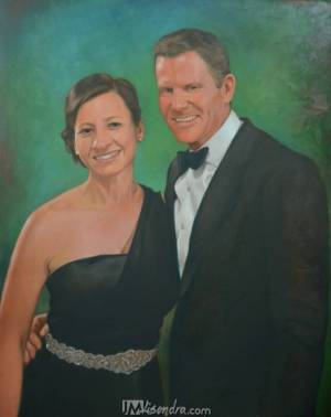 Portrait Of Couple
