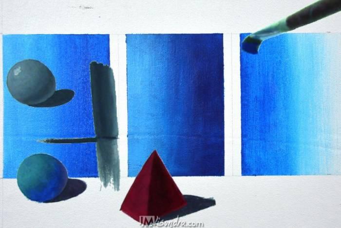 the basics of acrylic painting