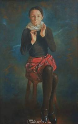 Portrait Of Irish Girl