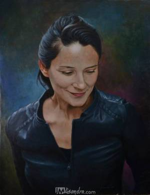 Portrait Of Irish Woman